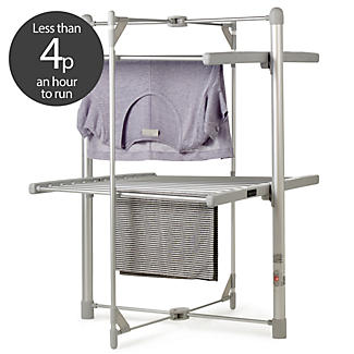 Dry:Soon 2-Tier Heated Airer and Cover Offer Bundle alt image 3
