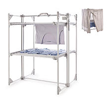 Dry:Soon Deluxe 2-Tier Heated Airer and Cover Offer Bundle