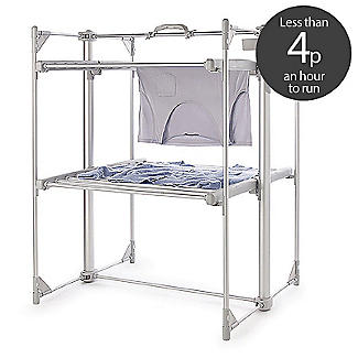 Dry:Soon Deluxe 2-Tier Heated Airer and Cover Offer Bundle alt image 2