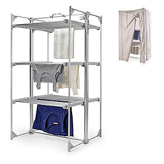 Dry:Soon Deluxe 3-Tier Heated Airer and Cover Offer Bundle