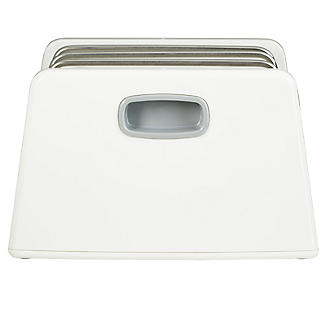 ILO Adjustable Chopping Board Storage Rack White and Grey alt image 2