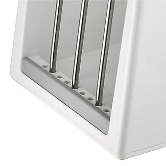ILO Adjustable Chopping Board Storage Rack White and Grey alt image 5