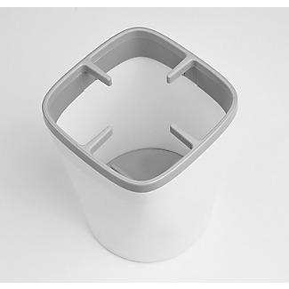 ILO Kitchen Utensil Pot White and Grey alt image 3