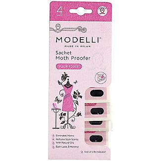 4 Modelli Sachet Moth Proofer Fleur Rouge