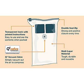 2 Pack-Mate Jumbo Flat Vacuum Bags alt image 4
