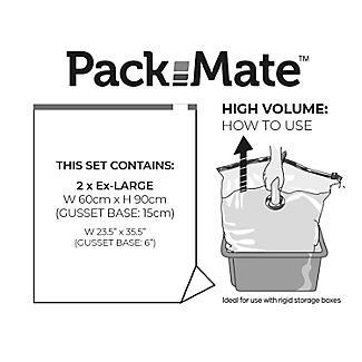 2 Pack-Mate Extra Large Volume Vacuum Bags alt image 5
