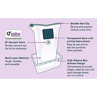 2 Pack-Mate Jumbo Volume Vacuum Bags alt image 4