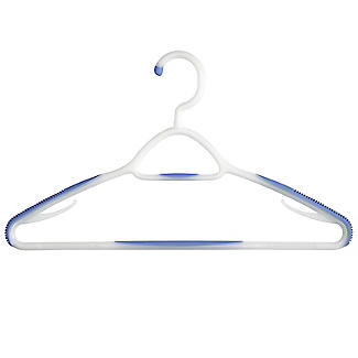 Soft Grip Non Slip Clothes Hangers Mixed Berry 6 Pack alt image 4