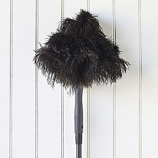 Long Reach Extendable Ostrich Feather Duster alt image 2