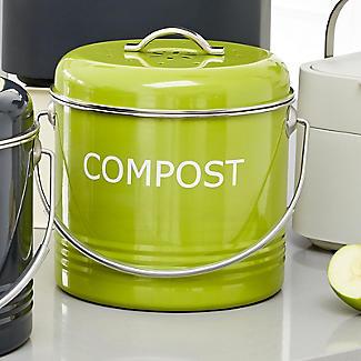 Worktop Compost Bin Apple Green 3.5L  alt image 2