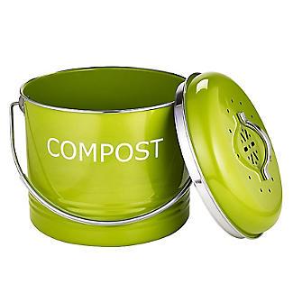 Worktop Compost Bin Apple Green 3.5L  alt image 3