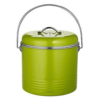 Worktop Compost Bin Apple Green 3.5L  alt image 5