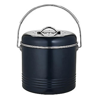 Worktop Compost Bin Slate Grey 3.5L  alt image 5