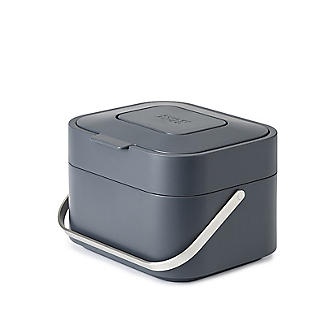 Joseph Joseph Stack 4 Food Waste Caddy with Odour Filter - Graphite