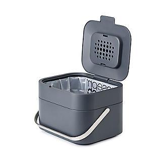Mini Crème 3 L Compost Caddy//Food Bin /& 2 x Filtres