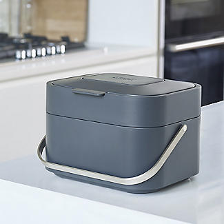 Joseph Joseph Stack 4 Food Waste Caddy with Odour Filter - Graphite alt image 5