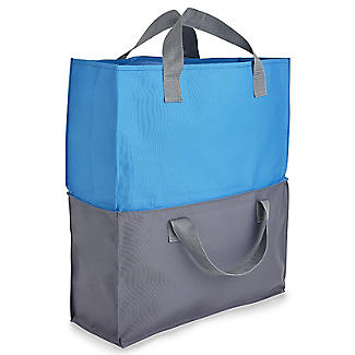 2-in-1 Shopping Trolley Tote Bags Set of 2 alt image 11
