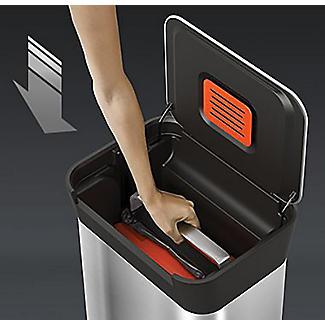 Joseph Joseph Titan Trash Compactor Pedal Bin 30L alt image 3