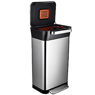 Joseph Joseph Titan Trash Compactor Pedal Bin 30L alt image 6