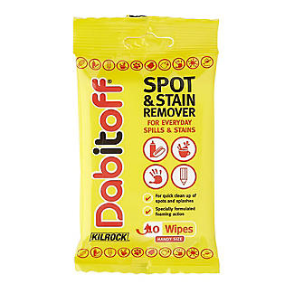 Kilrock Dabitoff Stain Remover Wipes for Clothes 10 Pack