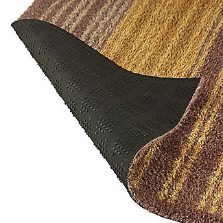 Warm Stripe Turtle Mat alt image 2