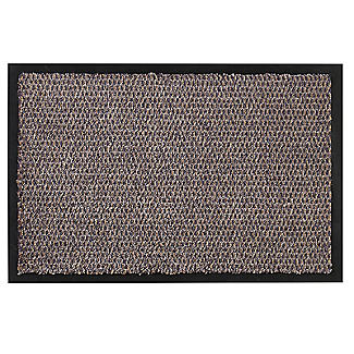 Microfibre Super-Absorbent Indoor Door Mat Granite 58 x 39cm alt image 1