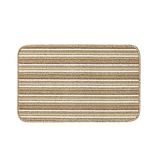 Lakeland Anti-Slip Indoor Door Mat Natural Stripe 50 x 80cm