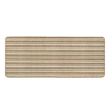 Lakeland Anti-Slip Indoor Runner Natural Stripe 67 x 180cm