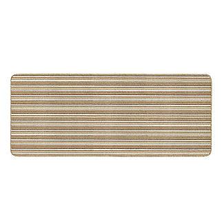 Lakeland Anti-Slip Indoor Runner Natural Stripe 67 x 180cm