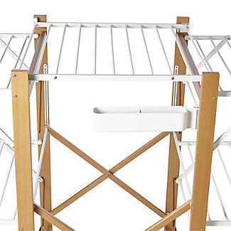Italian Design Large Folding Wooden Clothes Airer alt image 5