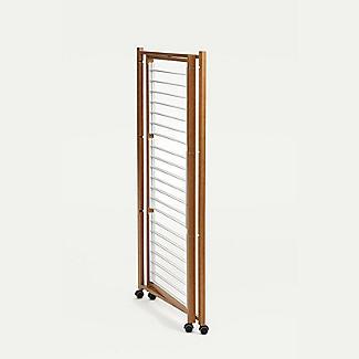 Italian Design Folding Wooden 3-Tier Tower Clothes Airer alt image 5