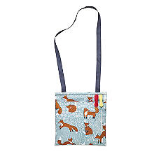 Foraging Fox Oilcloth Peg Bag