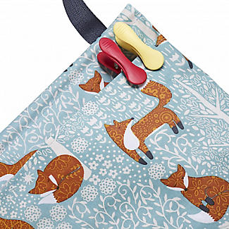 Foraging Fox Oilcloth Peg Bag alt image 3