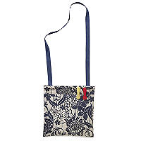 Meadow Blue Oilcloth Peg Bag
