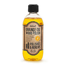 Lakeland Orange Oil Wood Furniture Polish 500ml