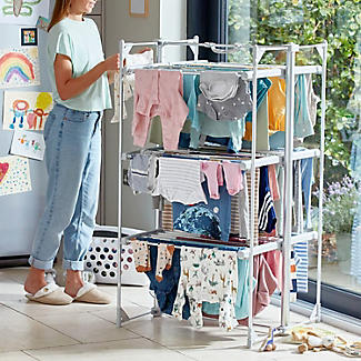 Dry:Soon Deluxe 3-Tier Heated Airer and Full Accessories Offer alt image 2