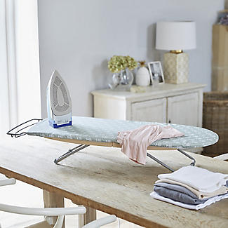 Foppapedretti Italian Folding Tabletop Ironing Board with Storage Bag alt image 2