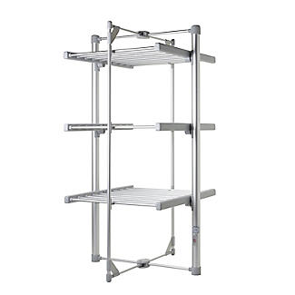 Dry:Soon Mini Standard 3-Tier Heated Airer alt image 3