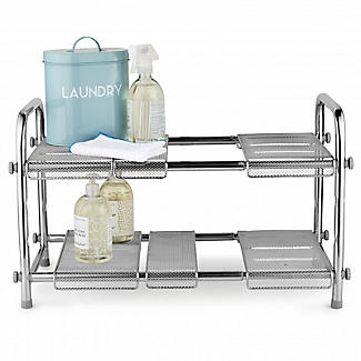 Expandable Two-Tier Under-Sink Organiser