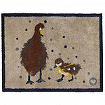 Hug Rug Anti-Slip Indoor Door Mat Duck Family 85 x 65cm