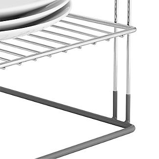 Lakeland Chrome Plated Corner Plate Rack alt image 4