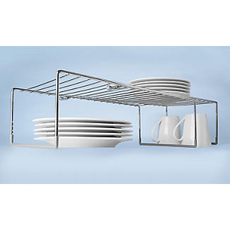 Lakeland Adapt A Shelf Extendable Storage Shelf Large alt image 7