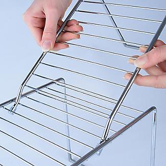 Lakeland Adapt A Shelf Extendable Storage Shelf Large alt image 9