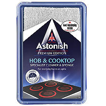 Astonish Hob & Cooktop Cleaner & Sponge 250g