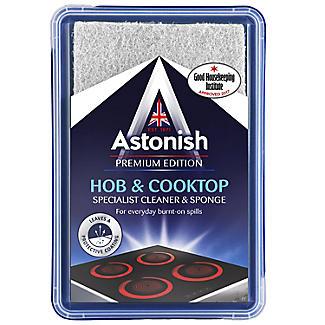 Astonish Hob & Cooktop Cleaner & Sponge 250g