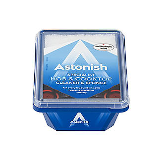 Astonish Hob & Cooktop Cleaner & Sponge 250g alt image 2