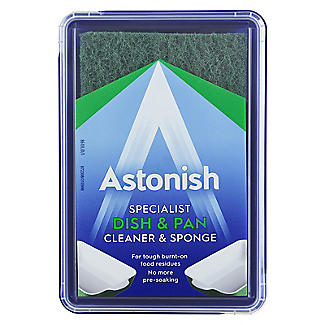Astonish Dish & Pan Cleaner & Sponge 250g alt image 4