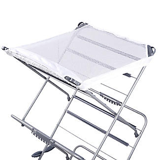 Easy-Up Concertina Indoor Clothes Airer Deluxe Grey 14m alt image 9
