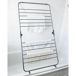 Over-Bath Indoor Clothes Airer Deluxe Grey 7.5m alt image 4