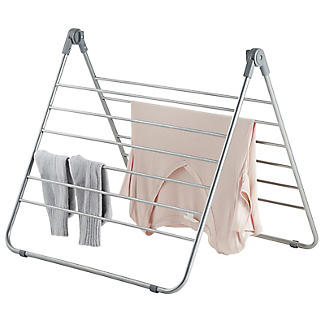 Over-Bath Indoor Clothes Airer Deluxe Grey 7.5m alt image 5